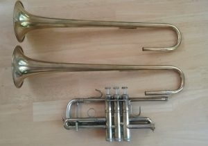 Bach Strad C trumpet with tunable bell