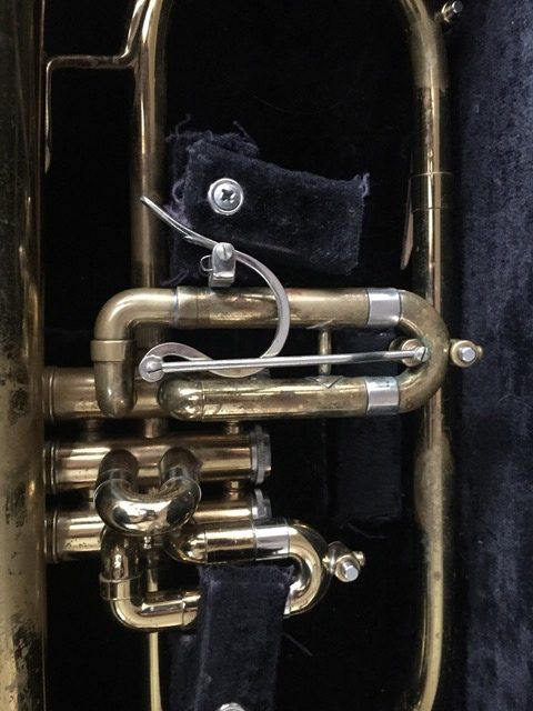 Getzen flugelhorn custom modification